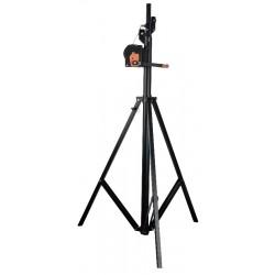 Showtec Wind-up stativ - max.4 mtr. / 50 kg