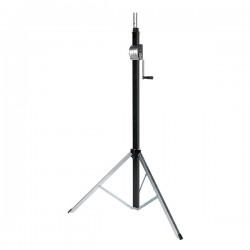Showtec Wind-up stativ - max.3,8 mtr. / 80 kg