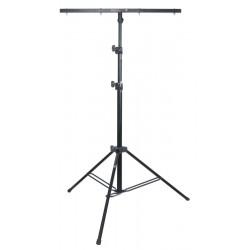Lysstativ med T-bar - 3,0m. max 30 kg - sort