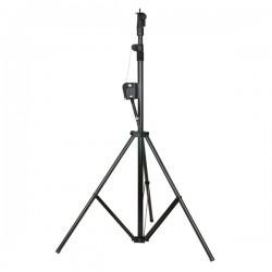 Showtec Wind-up stativ - max.3 mtr. / 20 kg