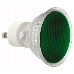 230V 50W - GU10 Sylvania reflektor MR16 50mm -grøn