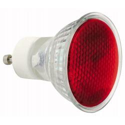 230V 50W - GU10 Sylvania reflektor MR16 50mm - rød
