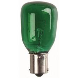 SHOWTEC 240V 15W - B15 fatning - grøn
