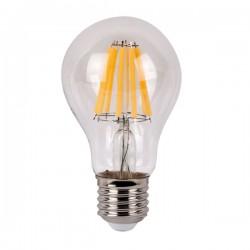 LED pære klar varm/2700K E27 8W 640 lumen