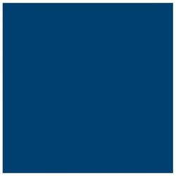 Showtec Dekomolton 3m. bredt 60m rulle, navy blå