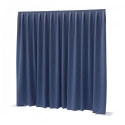 Gardin til afskærmning 300x300cm blå 260g