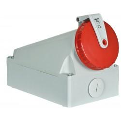 400V/125A CEE stik vægmontering hun - IP67