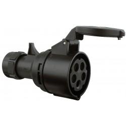 CEE 400V 16A hun kabelstik 5-pol IP44 turbo twist