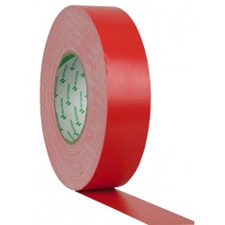 Showtec Gaffa-tape 38mm/50m, rød