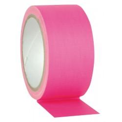 Neon Gaffa-tape, pink 50mm./25m.