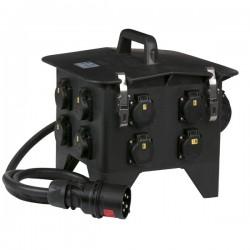 MPD-832 32Amp 400V -> 8 stk 230V split IP54sikring