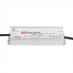 LED strømforsyning 24V DC 185W IP67