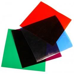 Farvefilter 15 x 15 cm i flere farver