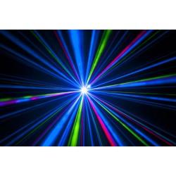 Galactic 800mW RGB laser - rød, grøn og blå