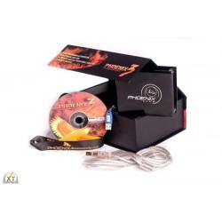 Phoenix 4 PRO plus lasersoftware til PC med box - ILDA