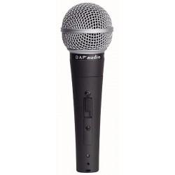 DAP PL-08S dynamisk vokal mikrofon med afbryder