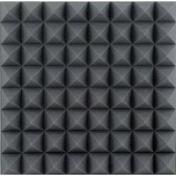 Akustisk skum 50x50x10cm., sort