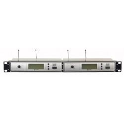 """19"""" beslag til 2 stk. ER-1193 UHF modtagere"""