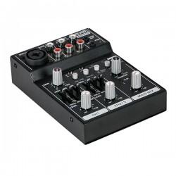 Mini-GIG 3 kabals mixer m. eq, USB og Bluetooth