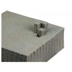 Plukskum - 10 cm tyk - 120x60cm