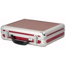 Kuffert til 7 mikrofoner - rød