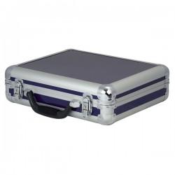 Kuffert til 7 mikrofoner - blå