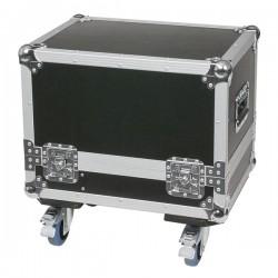 Flightcase med hjul til 2x M10 monitor