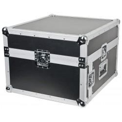 "DJ pult 19"" Flightcase 4U høj 10U topmontering"