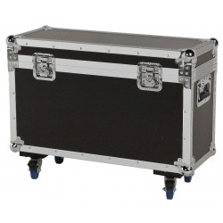 Flightcase til 2 stk. Phantom 50 movinghead
