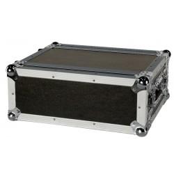 "19"" kompakt flightcase til effekter, m.v. 4U"