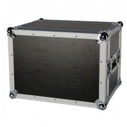 "19"" kompakt flightcase til effekter, m.v. 8U"