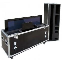 "Flightcase til 42"" plasmaskærm"