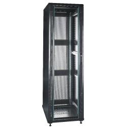 """19"""" Server-rack i 32U med glas i frontdør"""