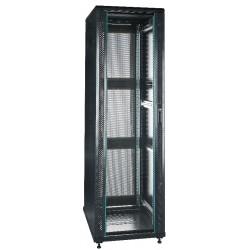 """19"""" Server-rack i 42U med glas i frontdør"""
