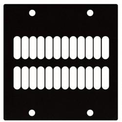 Ventilation panel  - 2 segmenter