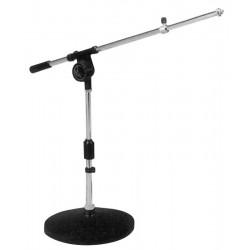 Mikrofonstativ m. bom-arm - til bord
