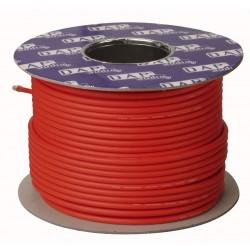 MC-216B Line/mikrofon kabel rød - 100 mtr.
