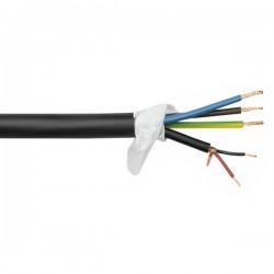 PSC-211 230V og signalkabel/DMX i ét pr. mtr. sort