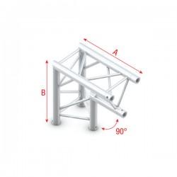 """DT22 deco bro trekantet - hjørne 90grader """"ned"""""""
