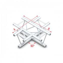 DT22 deco bro trekantet - 4-vejs kryds