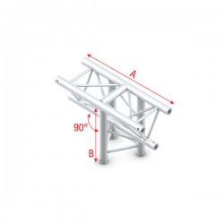 """DT22 deco bro trekantet - """"T"""" kryds vertikalt"""