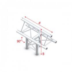 """DT22 deco bro trekantet - """"T"""" kryds vertikal """"op"""""""