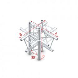 DT22 deco bro trekantet - 6 vejs kryds