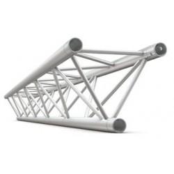 Deco bro trekant 22x22 cm - 400 cm lang