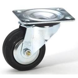 80 mm Guitelhjul med drej - uden bremse