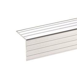 Kantliste aluminium 30x30 2 mtr