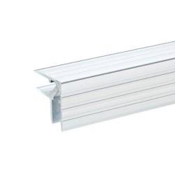 Hjørneliste aluminium 30x30mm 9,5mm 2 mtr