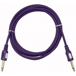 Stage-gig Guitar kabel 6mm lige stik - 6 mtr.