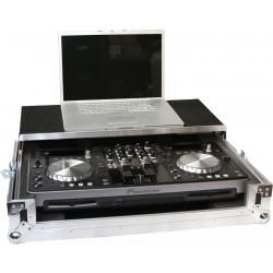 Flightcasepult t.Pioneer XDJ-R1 medieafspiller+ PC