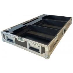Flightcase pult til Pioneer CDJ3000+DJM900 Nexus2